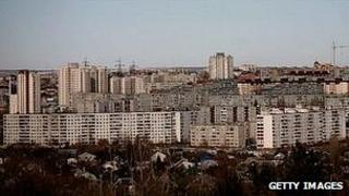 Volgograd view