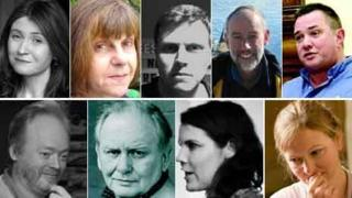The nine writers on the 2013 Wales Book of the Year shortlist