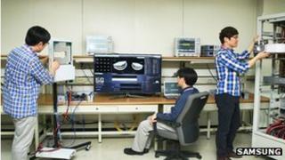 Samsung 5g test lab