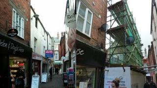 Church Lane building - before and after