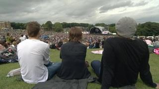 Leeds music festival, Party in the Park