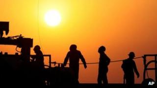 Oil well workers (generic)