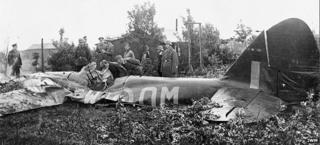 Bristol Blenheim crashed in Germany