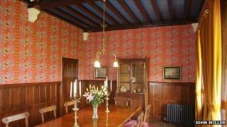 The Grange dining room