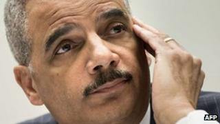US Attorney General Eric Holder testifies during a hearing of the House Judiciary Committee on Capitol Hill 15 May 2013