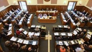 Cumbria County Council meeting