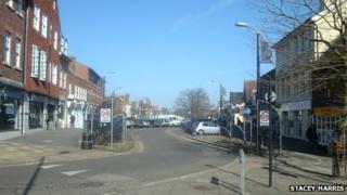 Crawley high street