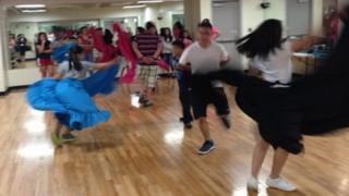 Dancing class in Arkansas