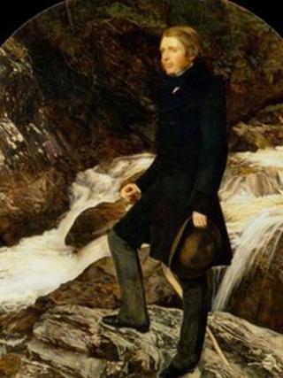 John Ruskin by Millais