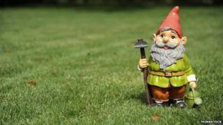 A garden gnome