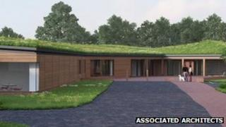 Architects image of new dogs' home
