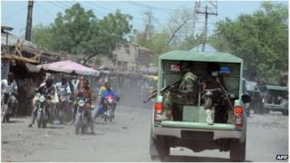 Joint Military Task Force in Maiduguri, Nigeria (30 April 2013)