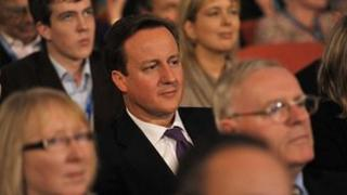David Cameron at the 2010 Conservative Party conference