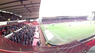 View from Upper Bridgford stand