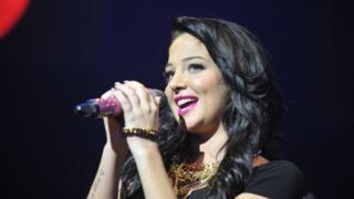 Tulisa singing
