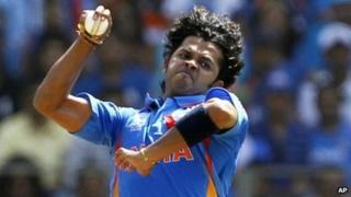 File photo of S Sreesanth bowling