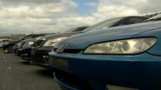 Seven vehicles worth more than £100,000 were seized