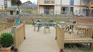 Decking at Lilac Grove
