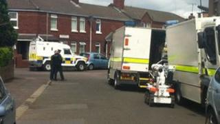Army bomb unit at scene of alert in Short Strand in east Belfast