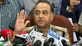 Delhi police chief Neeraj Kumar