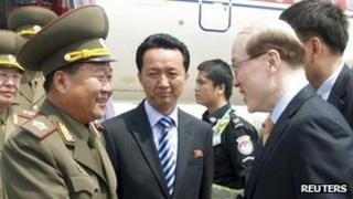 Choe Ryong-hae, one of North Korea's top military officials