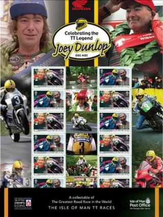 Joey Dunlop Stamps