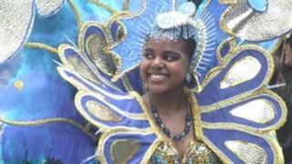 Sea horses parade at Luton International Carnival 2011