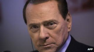 File photo of Silvio Berlusconi, June 2010
