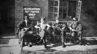 78th Fighter Group at Duxford during World War II