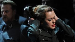 The Deutscheoper's Nazi-themed production of Wagner's Tannhaeuser