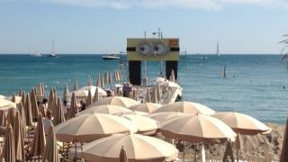 The goggles in Cannes