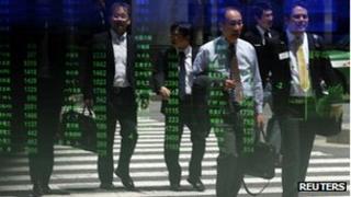 Tokyo traders