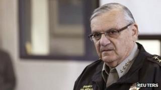 Maricopa County Sheriff Joe Arpaio (12 April 2013)