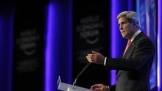 John Kerry in Jordan, 26 May