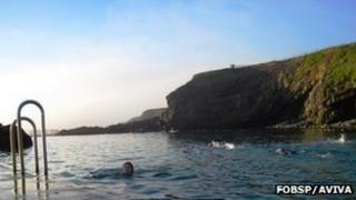 Bude's sea pool