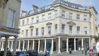 Officers Club in Bath
