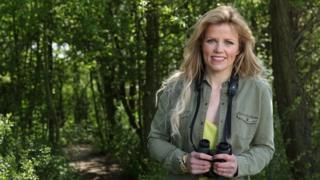 Ellie Harrison in woodland
