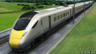 Trains like this will run on the main line from Swansea to London