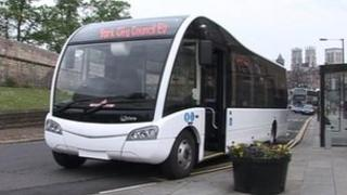 New electric bus in York