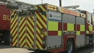 Firefighters attend gas leak in Grays