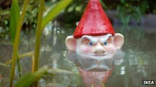 Ikea's garden gnome advert