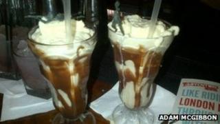 The Sundae Bloody Sundae cocktail