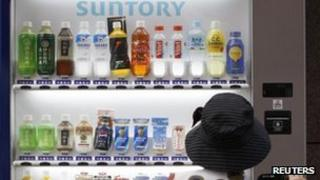 Suntory vending machine
