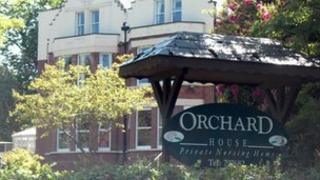 The alleged attack took place at Orchard House Nursing Home in Cherryvalley Park