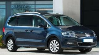 Blue VW Sharan