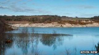 Meeth Quarry near Hatherleigh