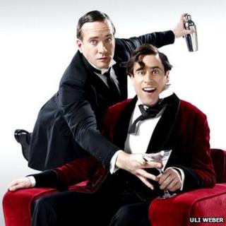 Matthew Macfadyen as Jeeves and Stephen Mangan as Wooster