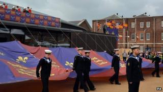 Mary Rose Museum is officially opened