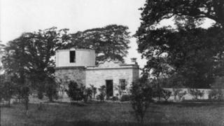 John Dillwyn Llewelyn's observatory in Penllergare Valley Woods