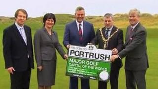 The 2012 Irish Open at Royal Portrush won the best event or festival award